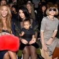 Beyonce, Kim Kardashian with daughter North and Anna Wintour.jpg